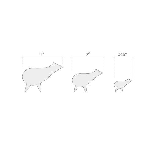 Piku Platinum, Handcrafted - Home Decor - Britto Charette