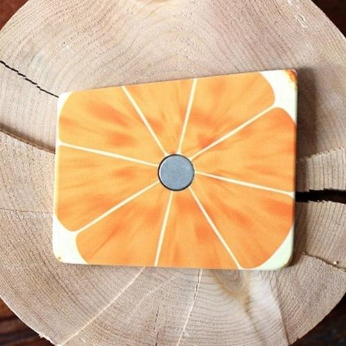 Wooden Pocket Square | Orange Slice | Baffi | Baltic Birch