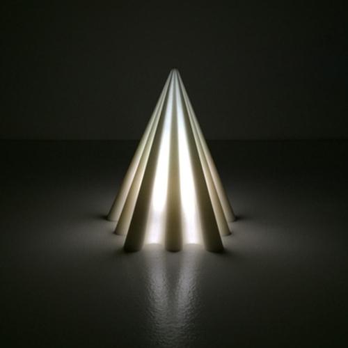 debbane pyramid small, pyramid lamp small, debbane pyramid small