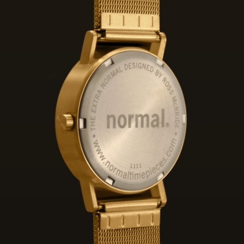 Gold Mesh Minimal Watch | Extra Normal Gold | Normal Watches