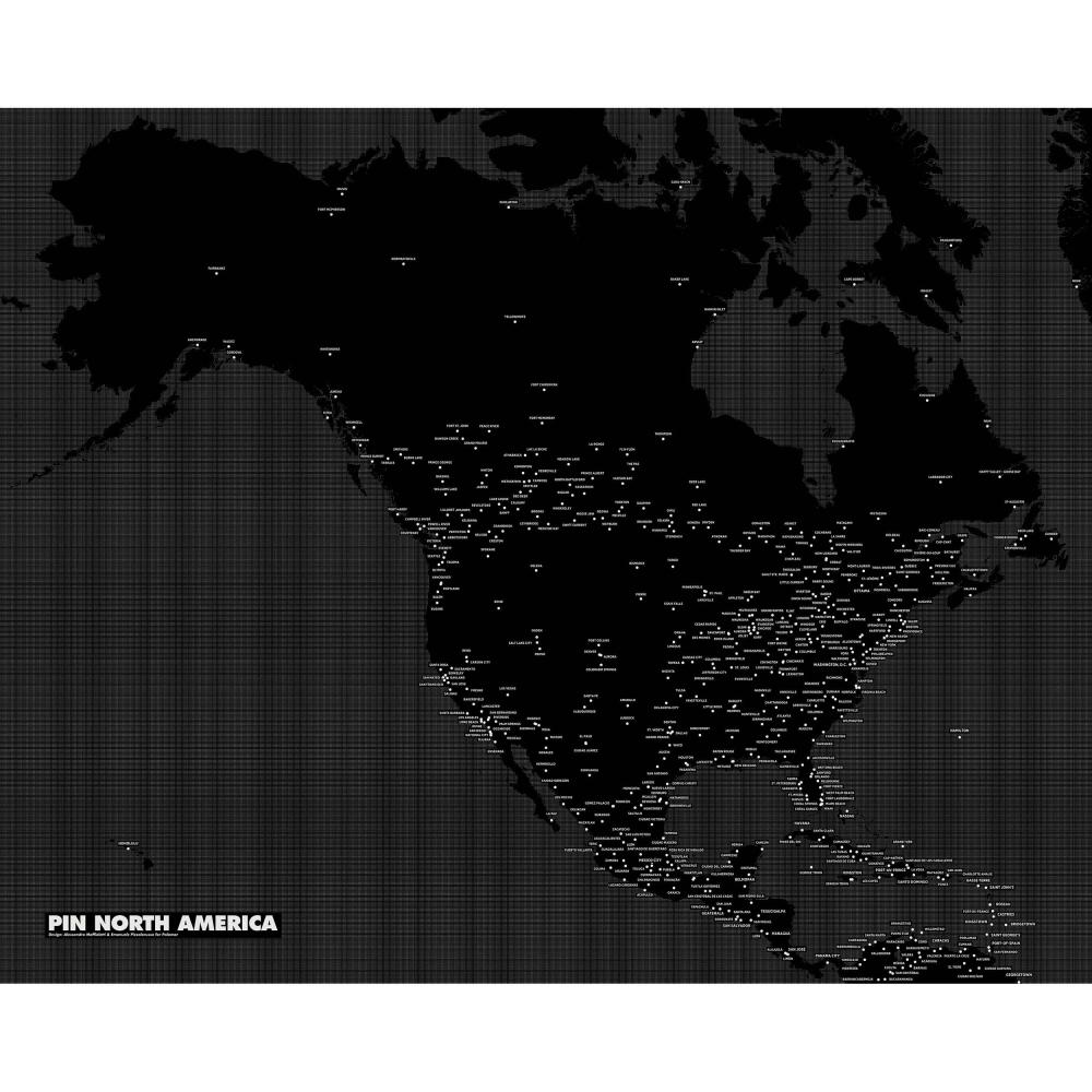 Pin Country North America - Black, Palomar