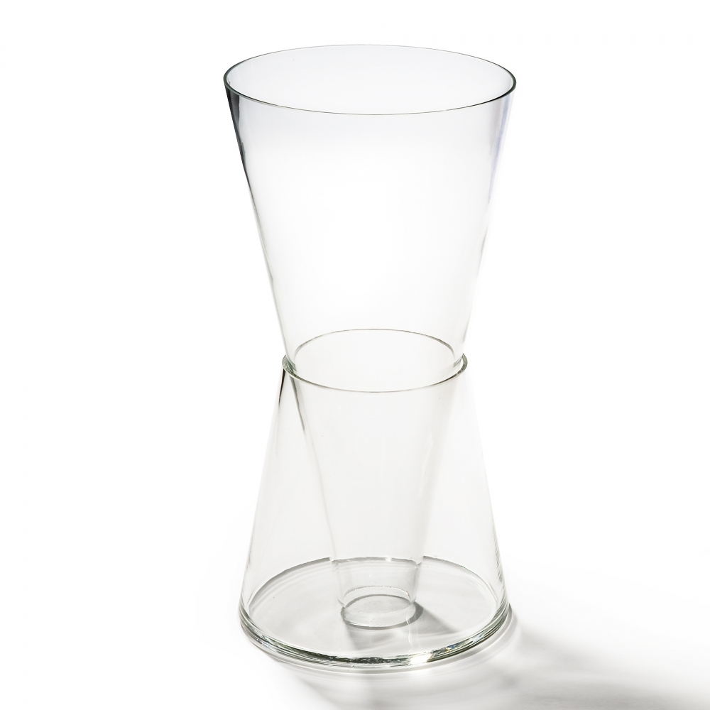 Double Vase, Clear, Goods