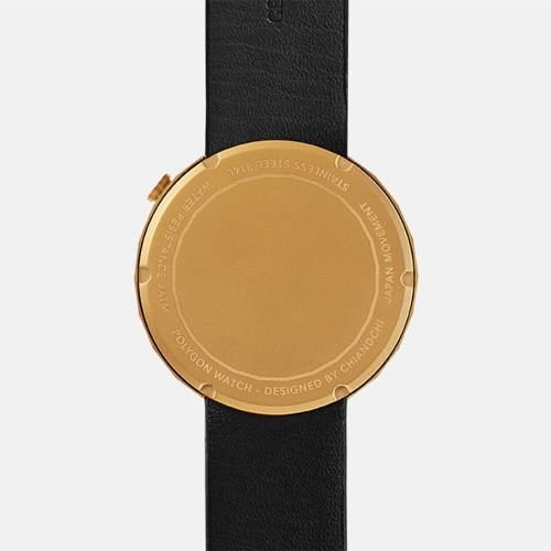 Polygon Watch, Black, chiandchi