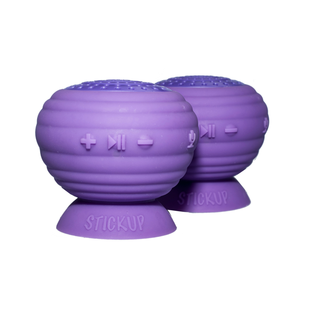 StickUp Stereo Speakers, Purple, Simple Living Technology