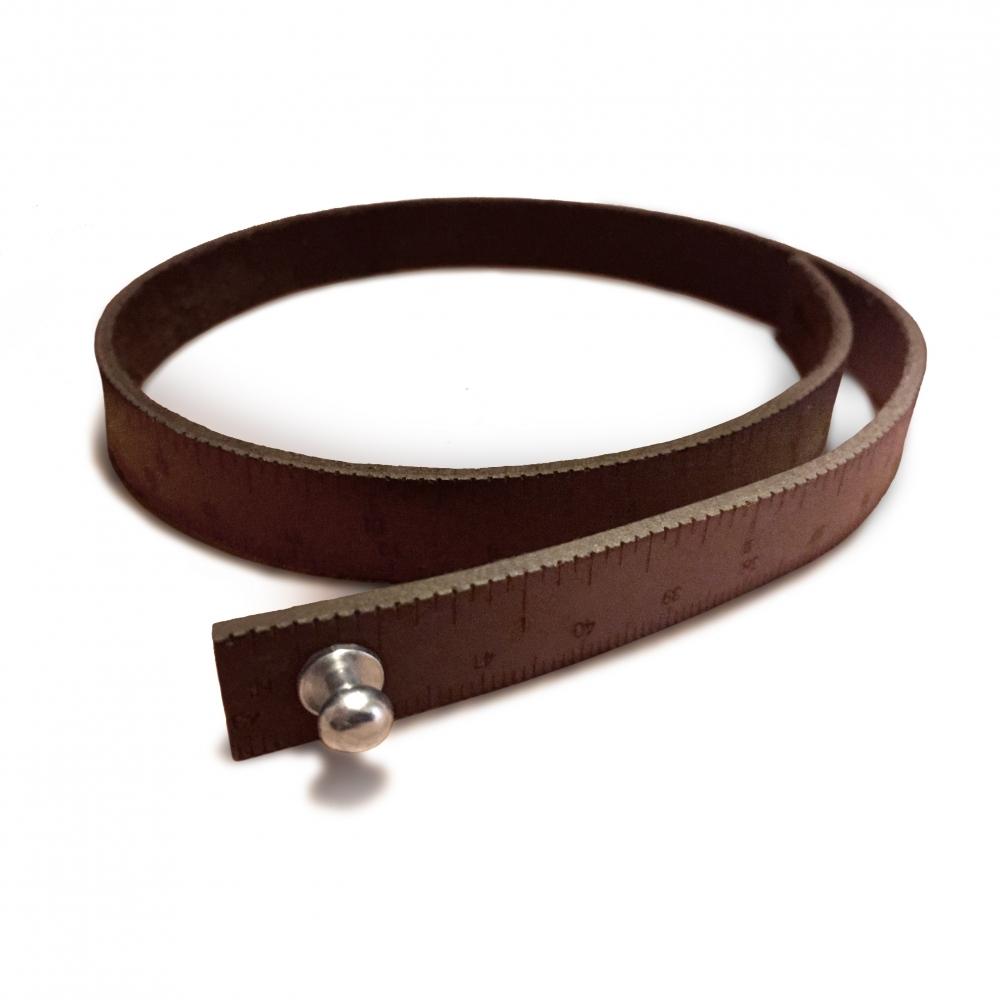 Leather Wrist Ruler | iLoveHandles