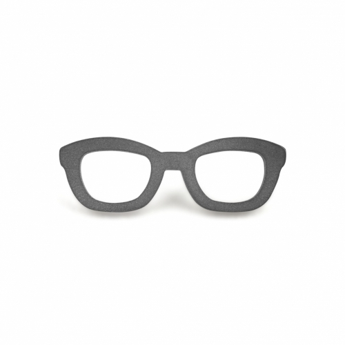 Lapel Pin, Glasses