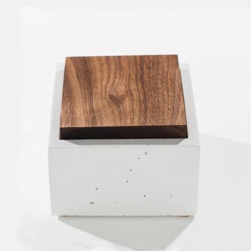 Square Box, White