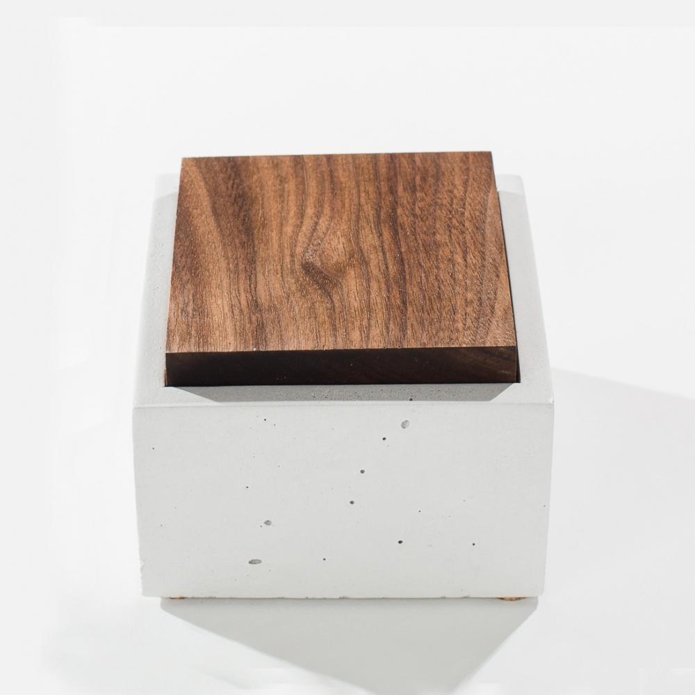 Square Box, White, IN.SEK Design