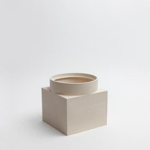 Tall Utility Vase   Cream   Luur