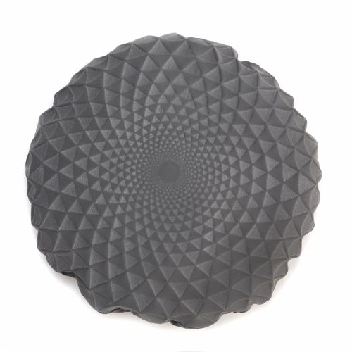 Noam Pillow Cover, Grey, Mikabarr