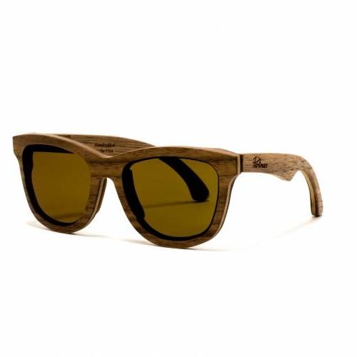 Bombay Walnut Sunglasses   Parkman
