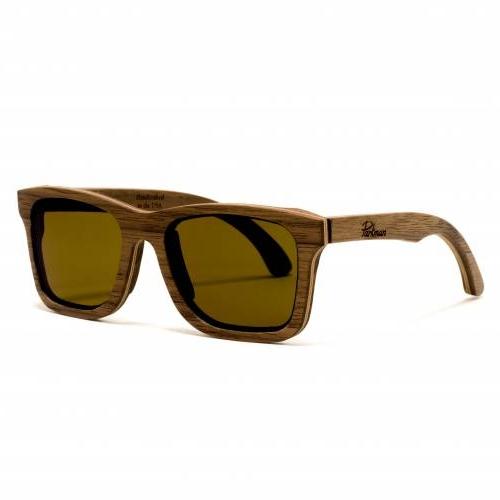 Handmade Sunglasses | Steadman Walnut Sunglasses | Parkman