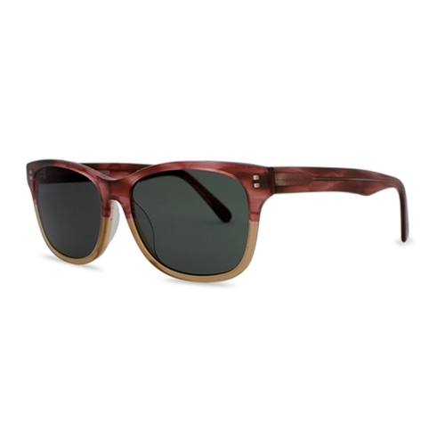 Windemere Cranberry & Tan Polarized Sunglasseses | Parkman