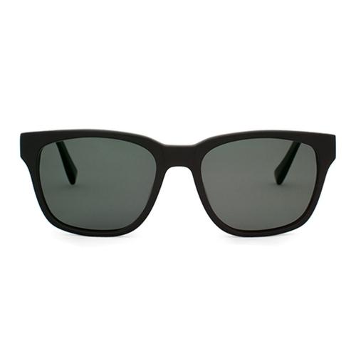 Polarized Brickma Matte Black Sunnies | Parkman Sunglasses