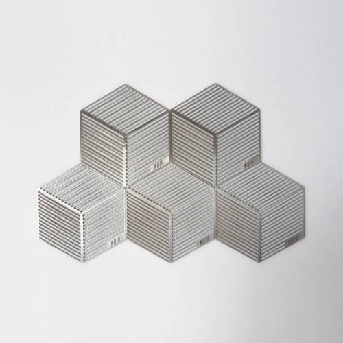 Seco Hexagon Shaped Coasters