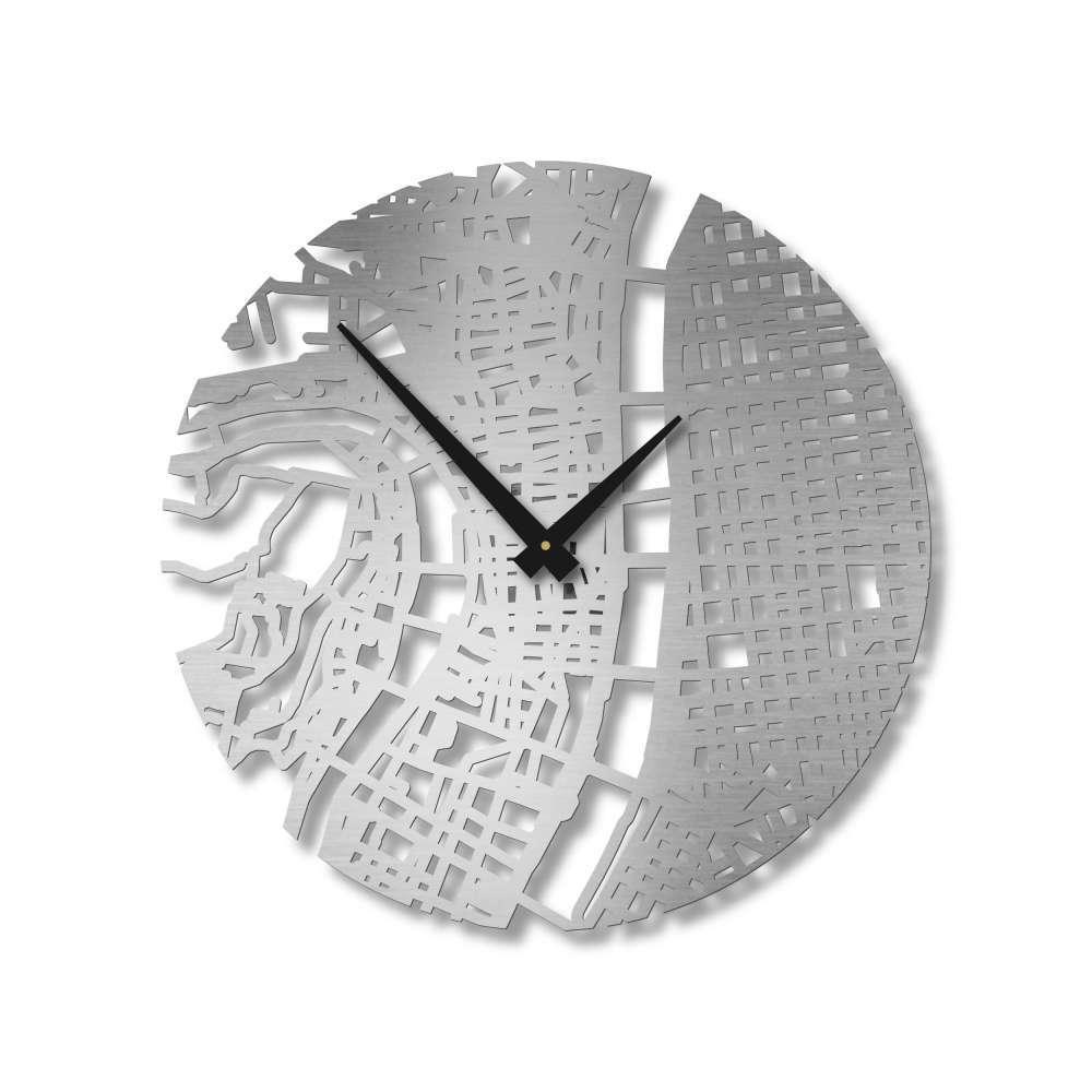 Street Map Clock | Lyon Clock | Design Clocks | Urban Story