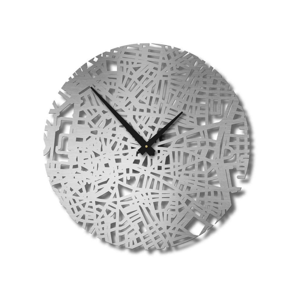 Handcrafted City Map Clocks | Madrid Clock | Urban Story