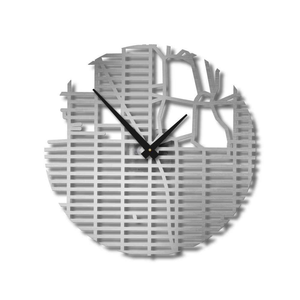 New York City Grid Clock | Map Streets Clocks | Urban Story