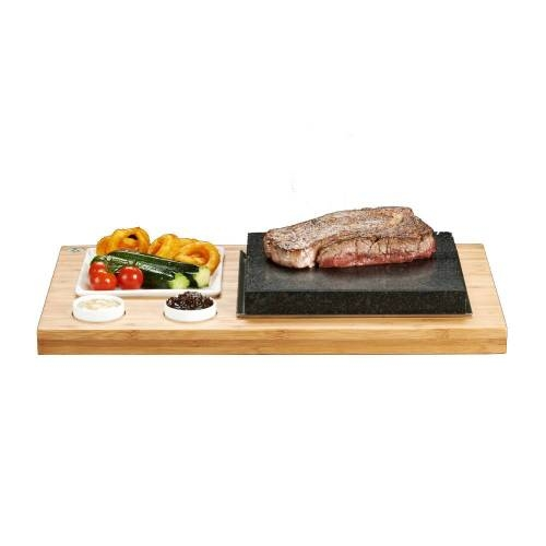 Steak Plate & Sauces Set - A Fresh, Fun and Healthy Way to Cook