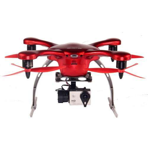 Ghost Aerial Plus Drone, Red