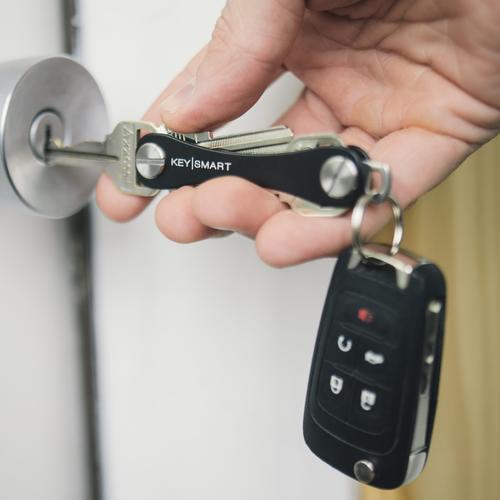 Keysmart Standard   Black   Aluminum Ultra Lightweight Key