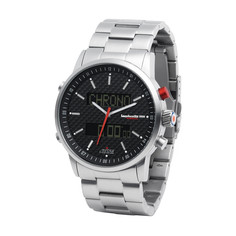 Avanti Bracelet Black   Lambretta Watches