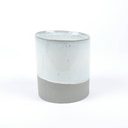 Slant Pot, Grey