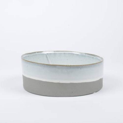Slant Bowl, Grey