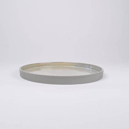 Slant Plate, Grey