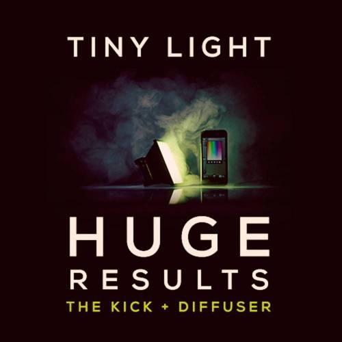 Kick + Diffuser Portable Lighting Studio for Photo and Video