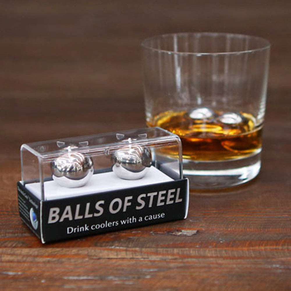 Balls of Steel Whiskey Chiller - Maintain a Desirable Temperature and a Delicate Flavor Balance