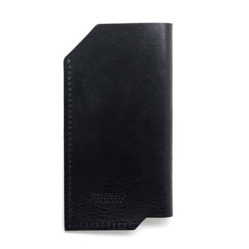 501 iPhone 6/6 PLUS Sleeve, Black - Leather iPhone Sleeve