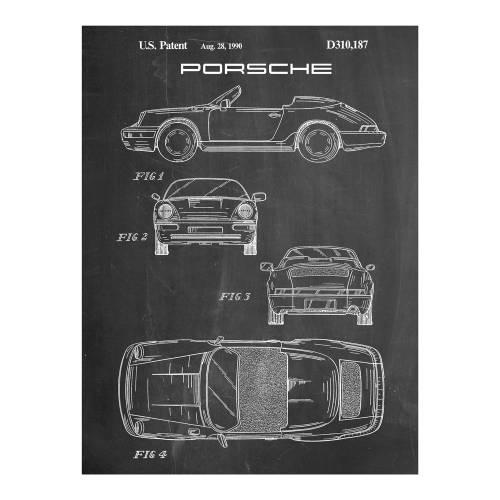 Porsche 911 Patent Print - Patent Prints