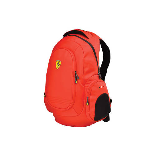 Laptop Backpack, Red