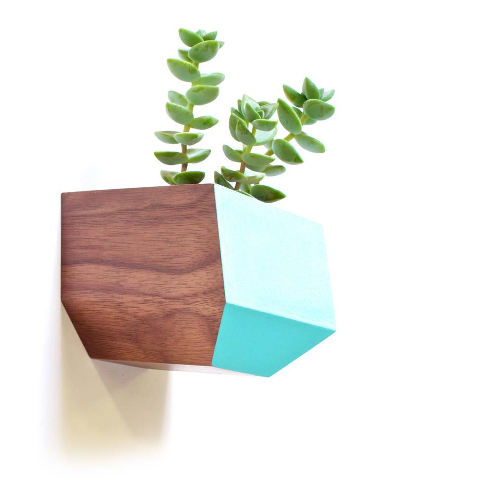 Sidecar Walnut & Blue - Revolution Design House