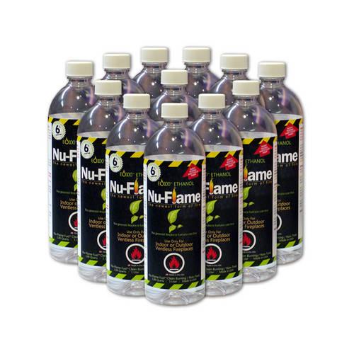 Nu-Flame Liquid Bio-Ethanol Fuel