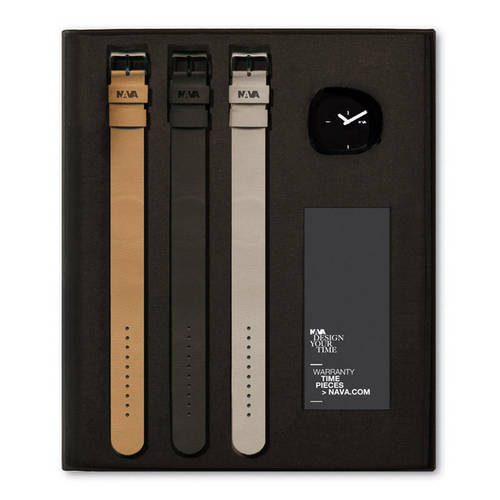 Black Stone Watch Gift Set