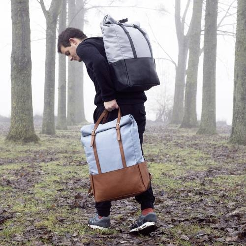 Brown Leather Backpack | Voyager |Transforms into a Tote Bag