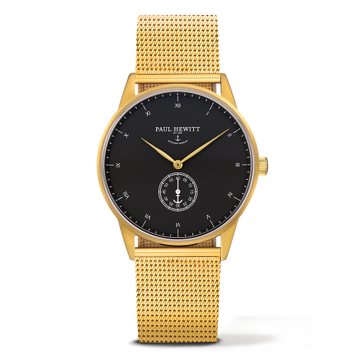 Mark I Mesh Watch, Black Sea