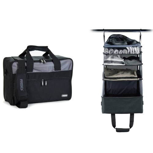 Jumper Carry-On Bag, Black/Grey