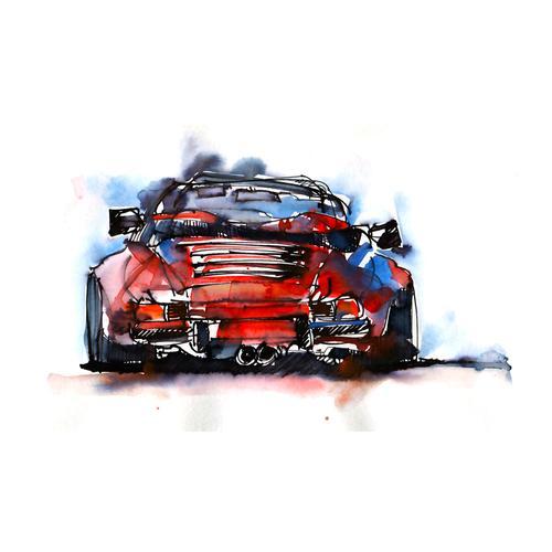 Print | Porsche 911 Carrera Cabriolet