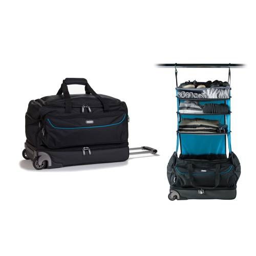 Roller Duffle Bag | Black&Blue
