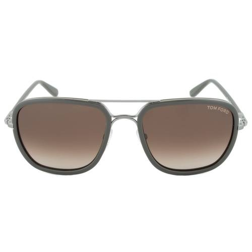 Tom Ford FT0340 14K Riccardo Square Sunglasses