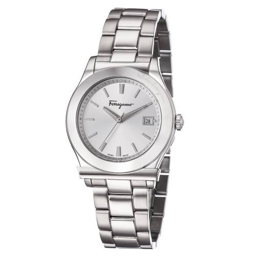 Ferragamo 1898 Men's Silver Watch