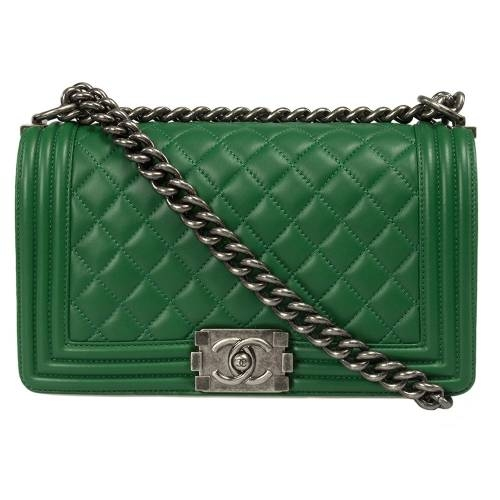 Medium Chanel Boy Quilted Flap Bag
