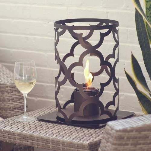 Mediterranean 15X10 Outdoor Steel Lantern in Bronze