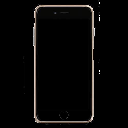 Slim Aerospace Aluminum Bumper for iPhone 6s, Champagne