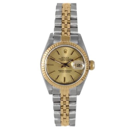 Ladies Yellow Gold Datejust Watch
