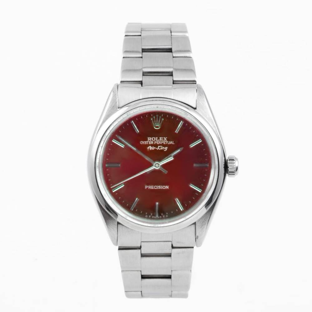 Rolex Stainless Steel AirKing Watch