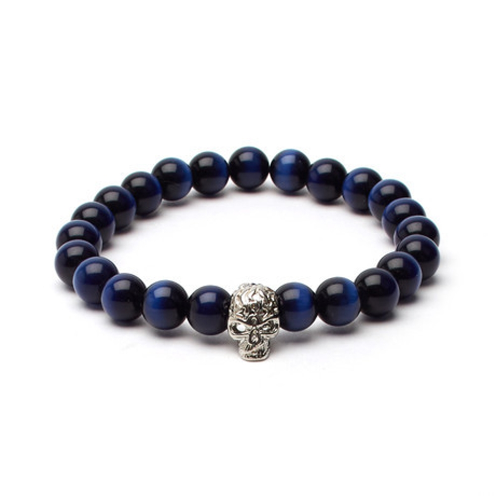 Blue Tiger's Eye Soul Bracelet - Buttigo